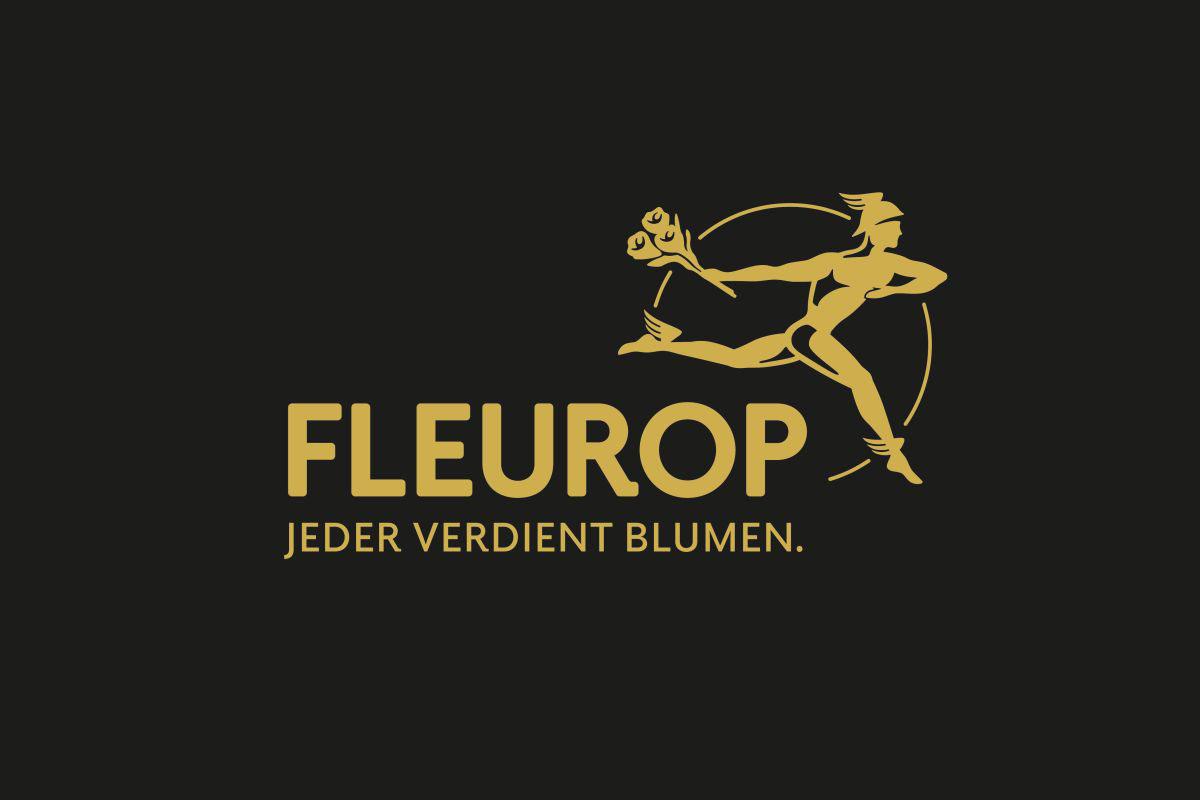 Fleurop Logo für Fünf Fleurop Sterne